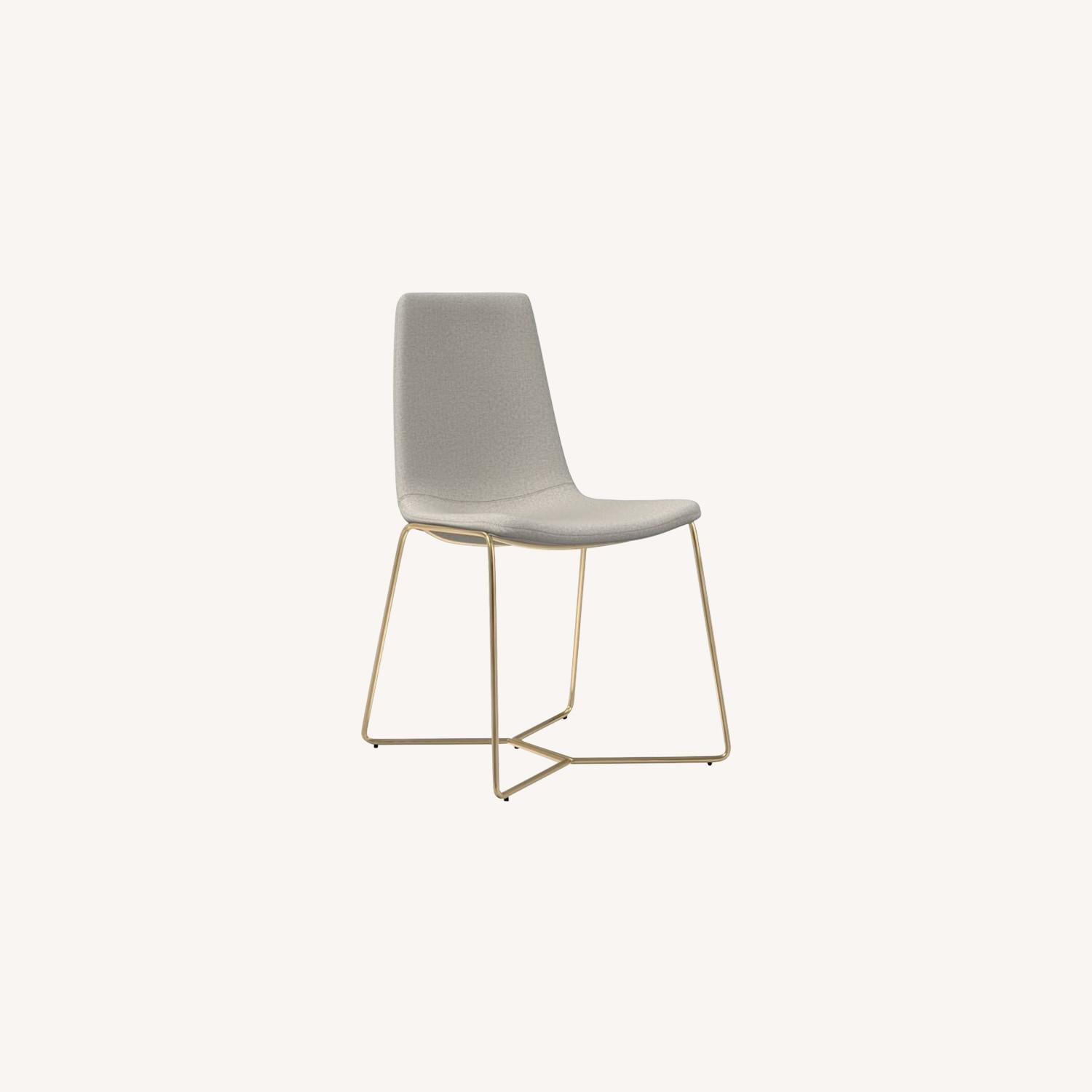 West Elm Slope Dining Chair - image-0