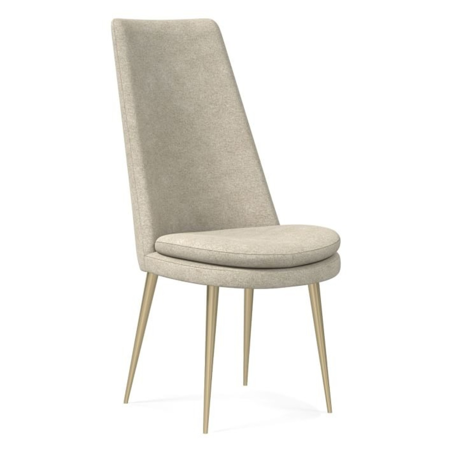 West Elm Finley High Back Dining Chair - image-3