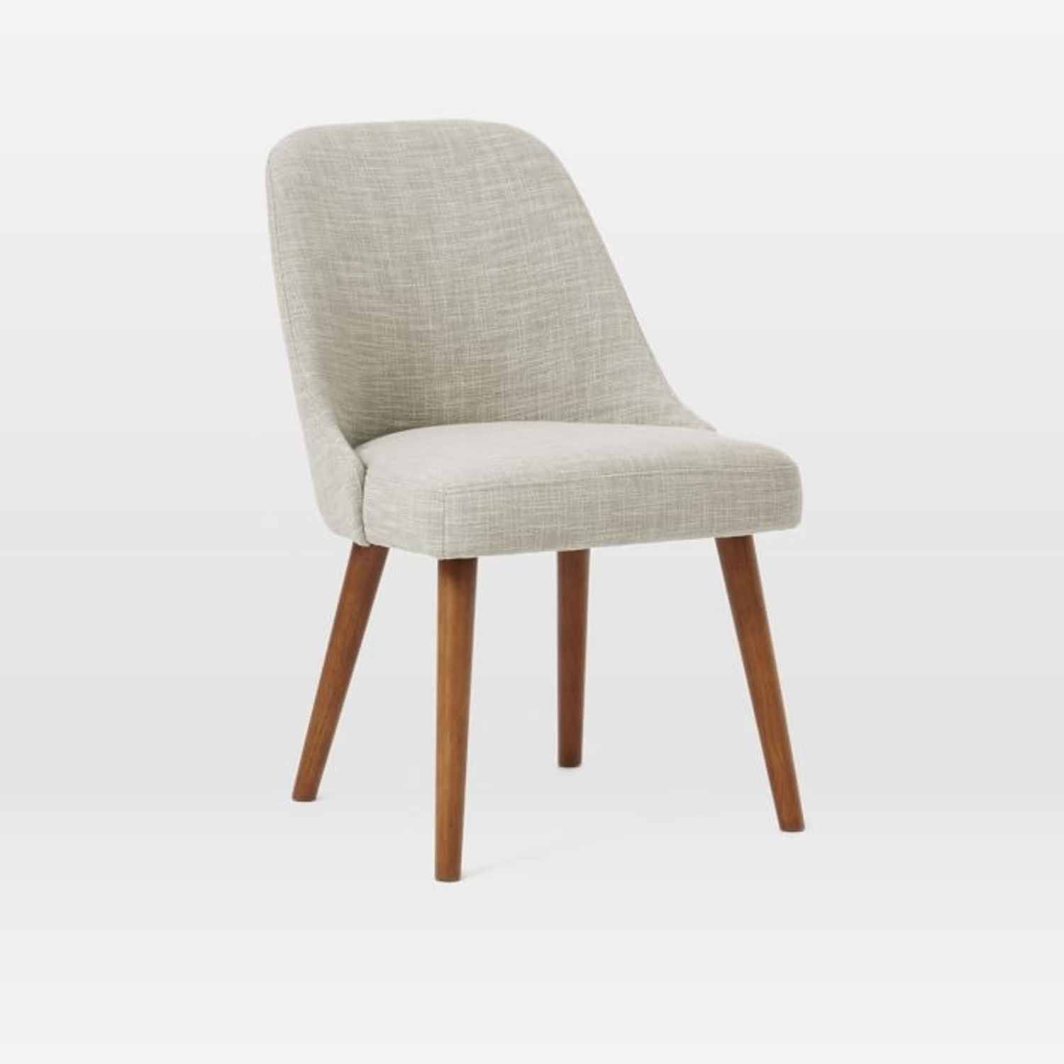 West Elm Mid-Century Upholstered Dining Chair - image-1