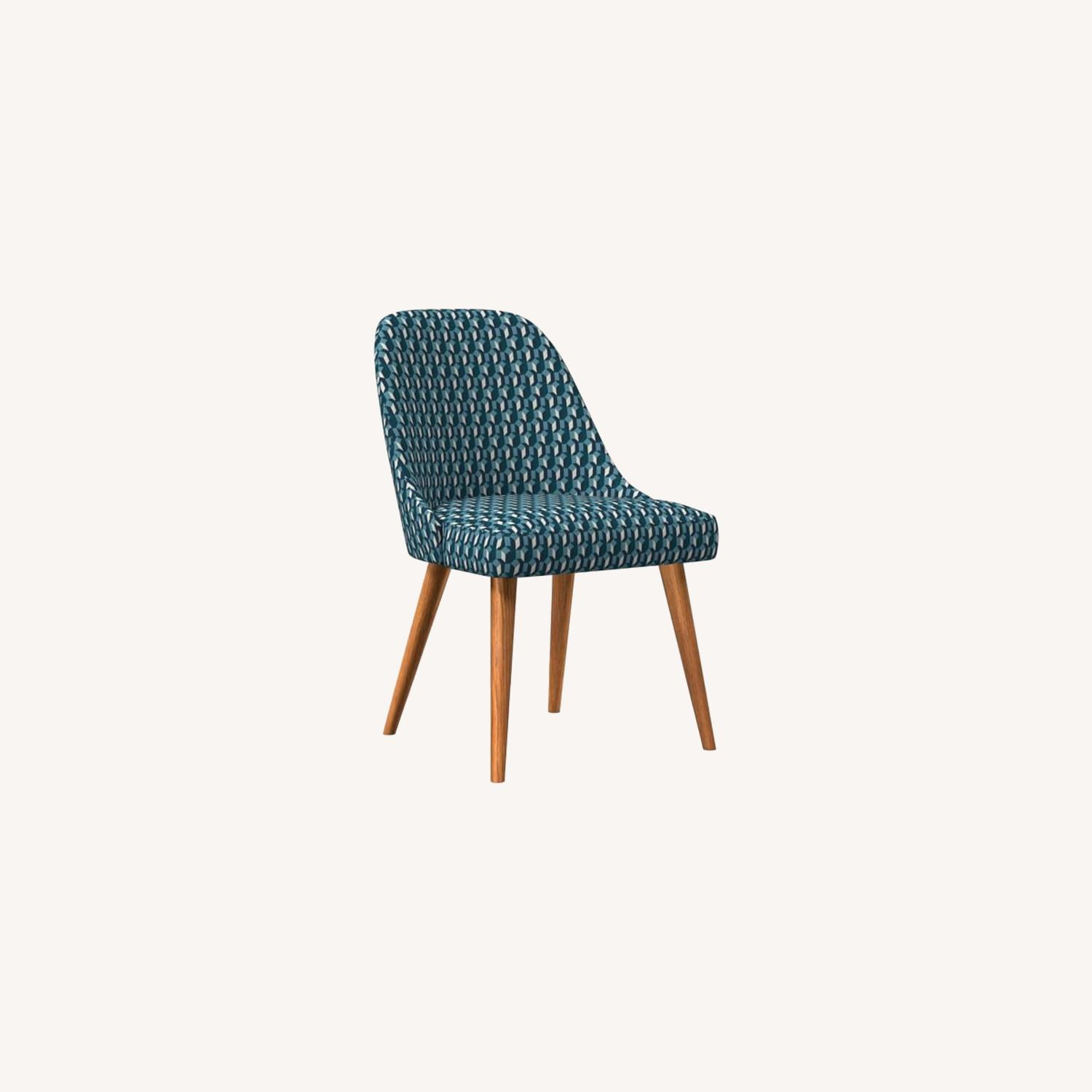West Elm Mid-Century Upholstered Dining Chair - image-0