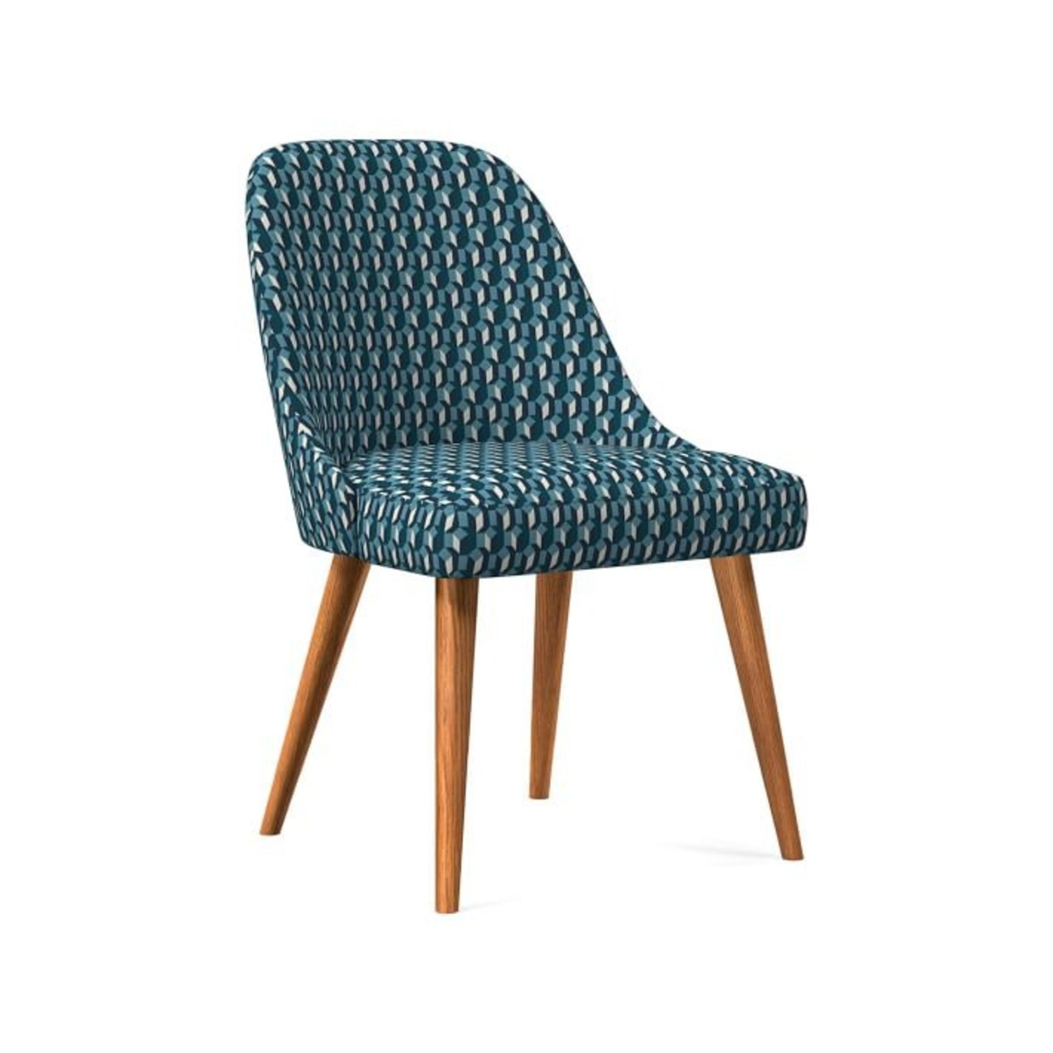 West Elm Mid-Century Upholstered Dining Chair - image-3