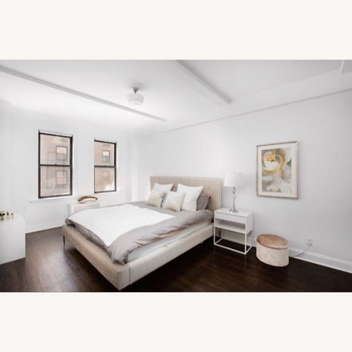 Used Tufted King Bed from ABC Home for sale on AptDeco