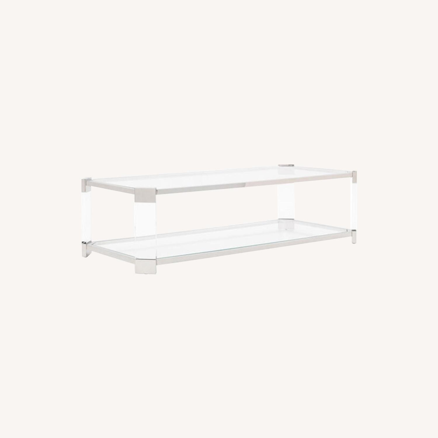 Mitchell Gold Melrose Rectangle Cocktail Table - image-0
