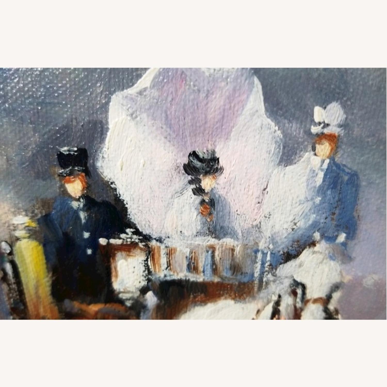 John Hansen Parisian City-Scape Oil Painting - image-5