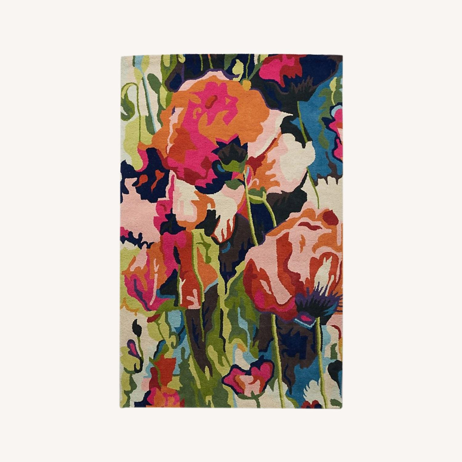 Anthropologie Poppy Rug 5x8 - image-0