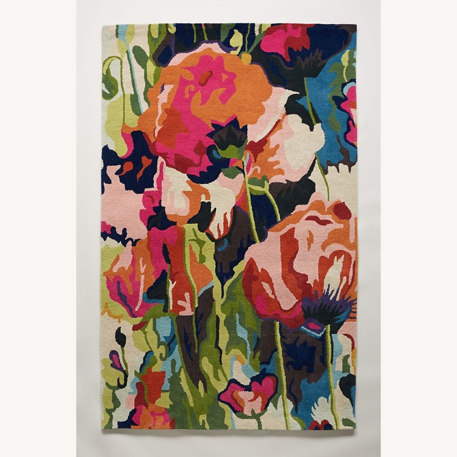 Anthropologie Poppy Rug 5x8 - image-1