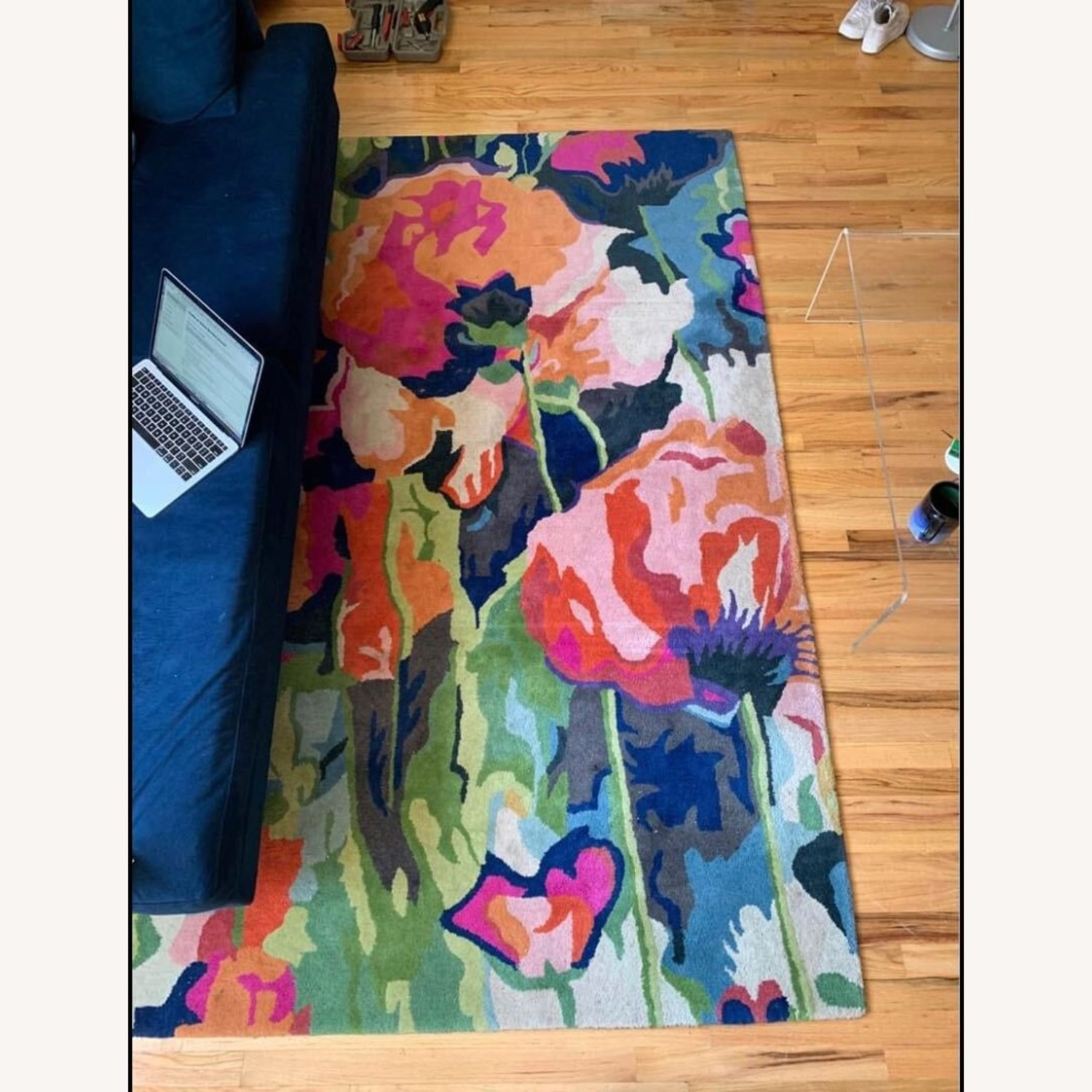 Anthropologie Poppy Rug 5x8 - image-2