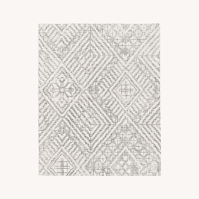 West Elm Stone Tile Rug - image-0