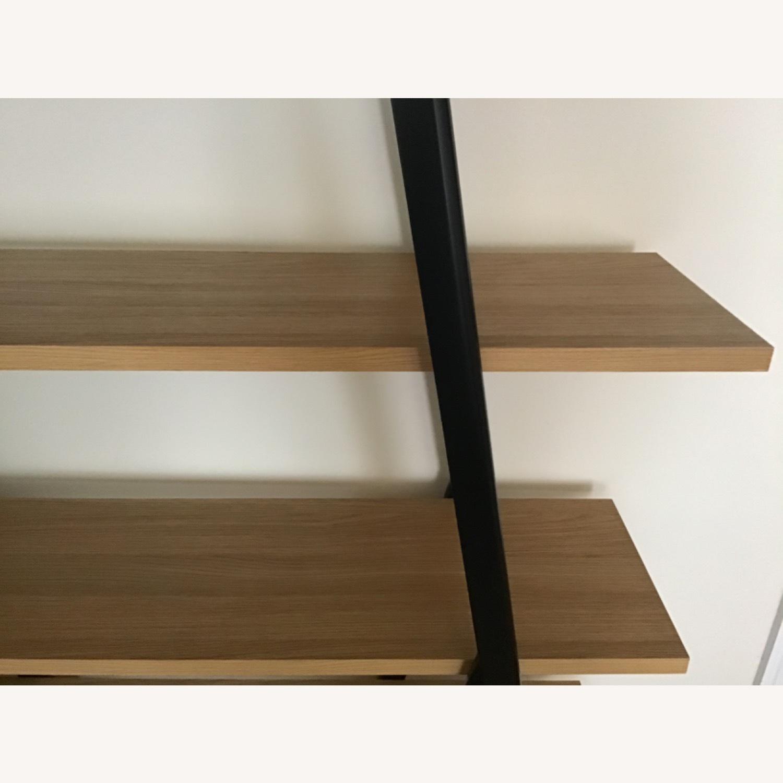 West Elm Ladder Bookshelf Wheat/Black - image-6