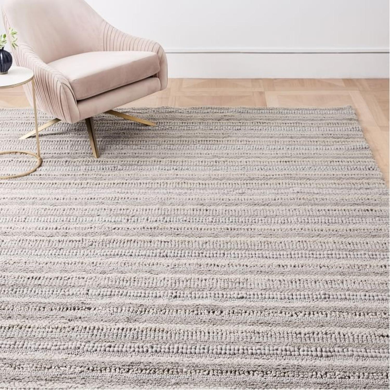 West Elm Stitched Mix Sweater Rug - image-3