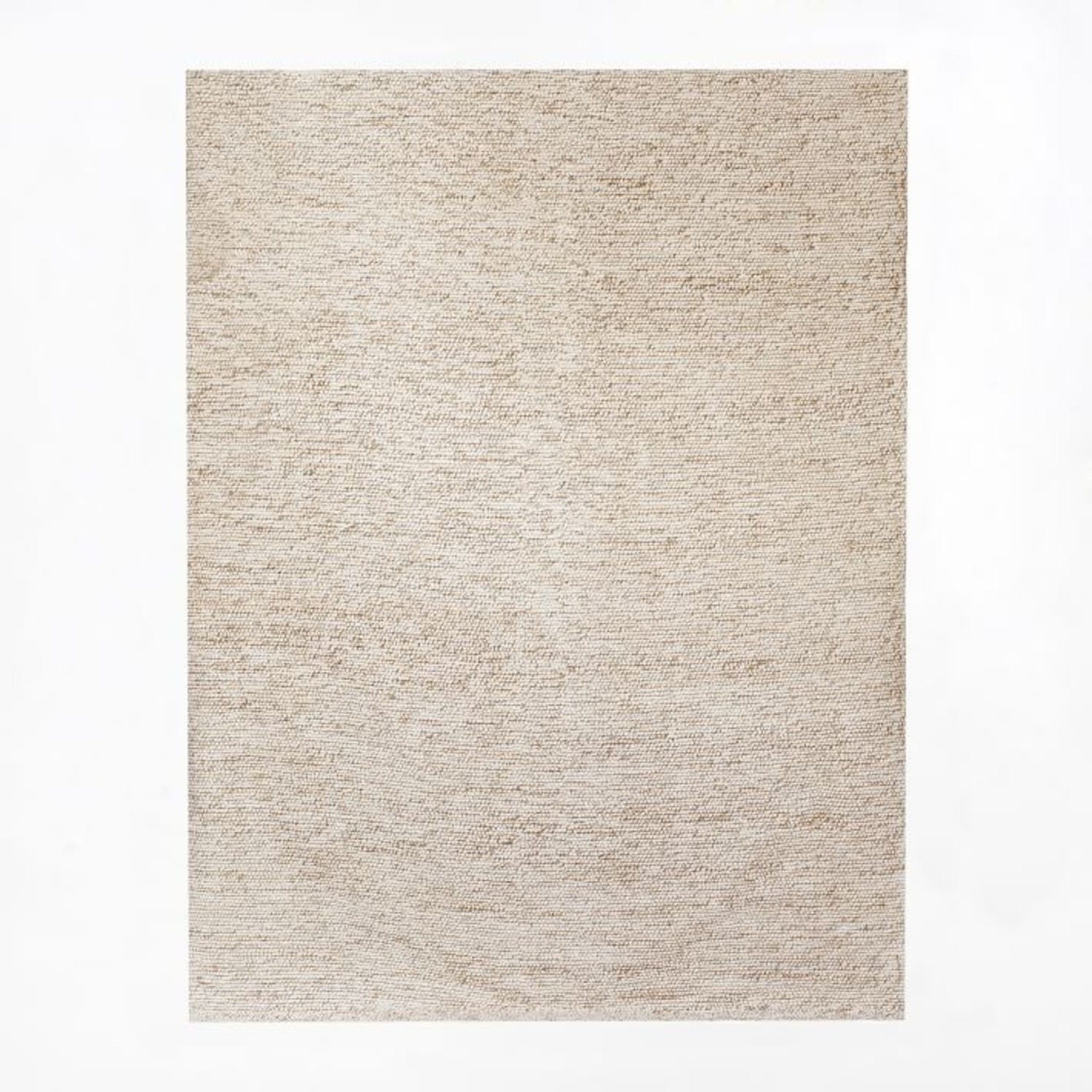 West Elm Mini Pebble Jute Wool Rug - image-1