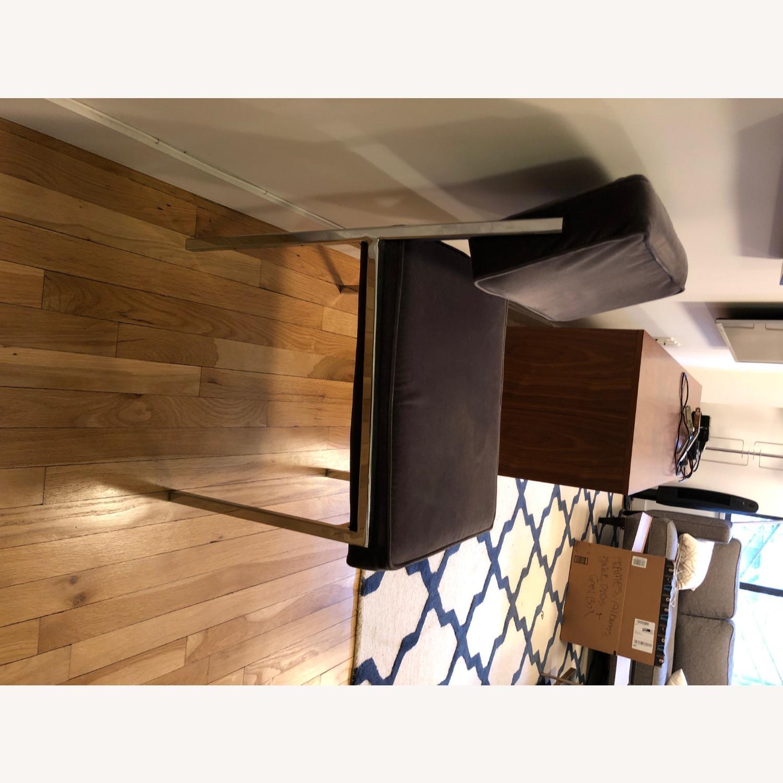CB2 Vexx Velvet Dining Chairs x 6 - image-4