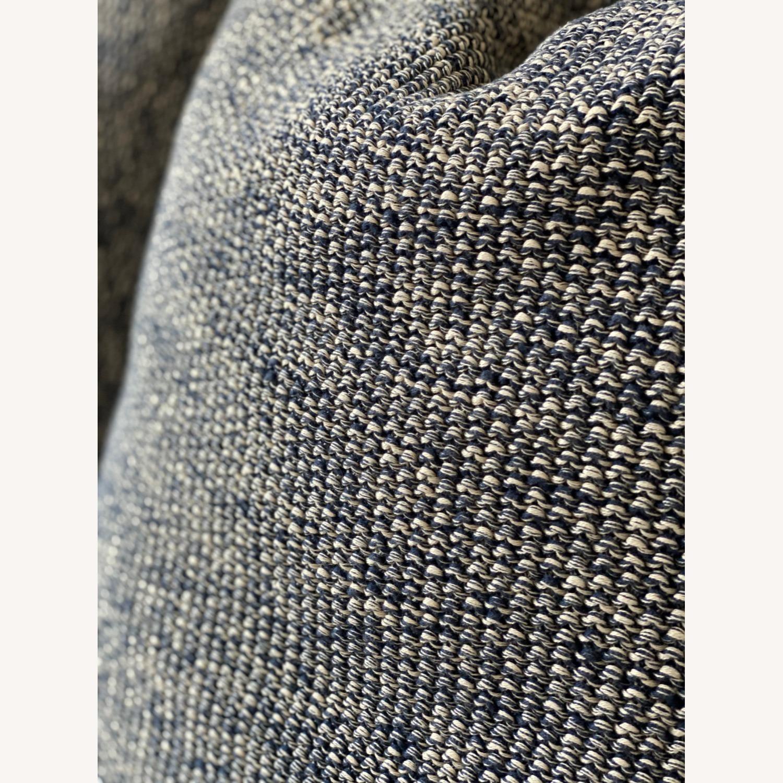 Ralph Lauren Home, Knit Throw Pillow Blue Melange - image-3