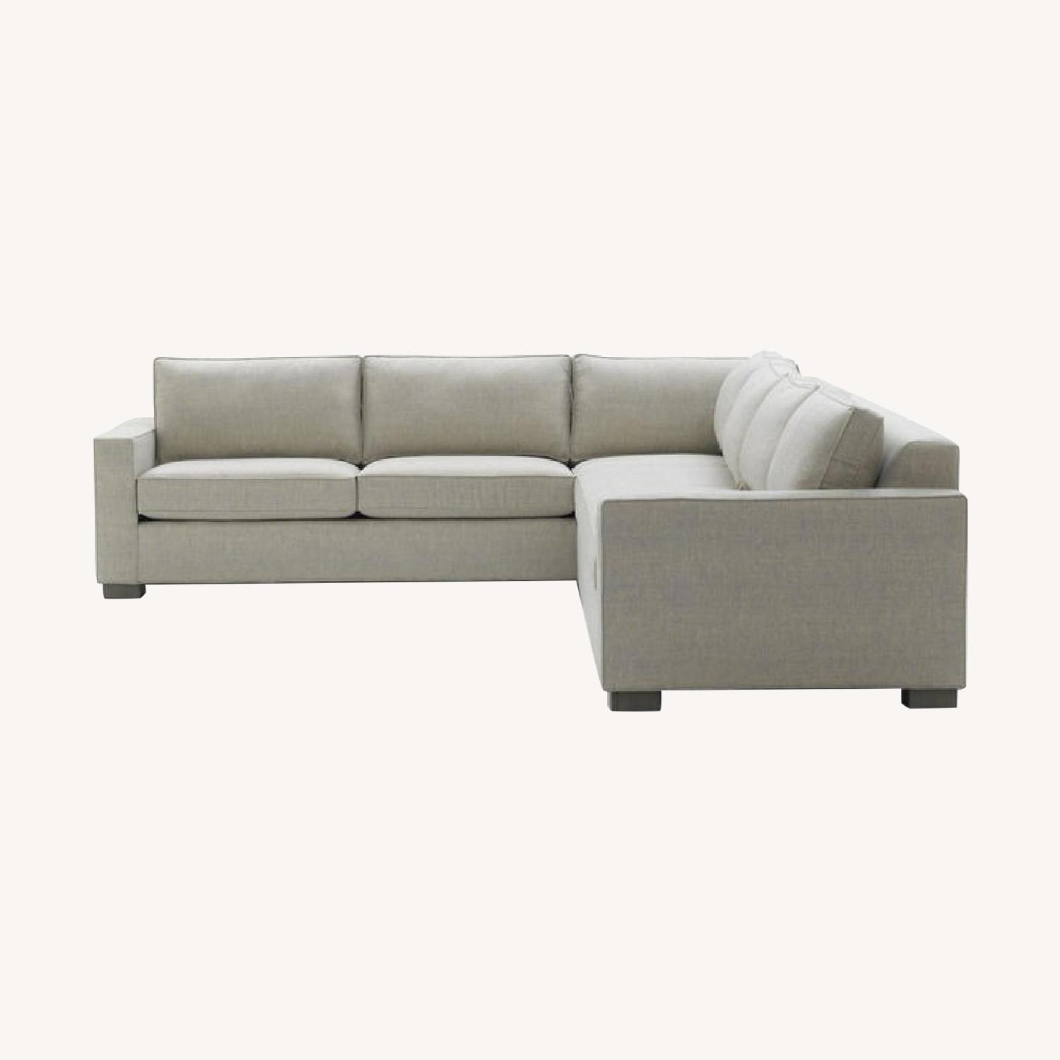 Mitchell Gold + Bob William 2 Piece Sectional Sofa - image-0