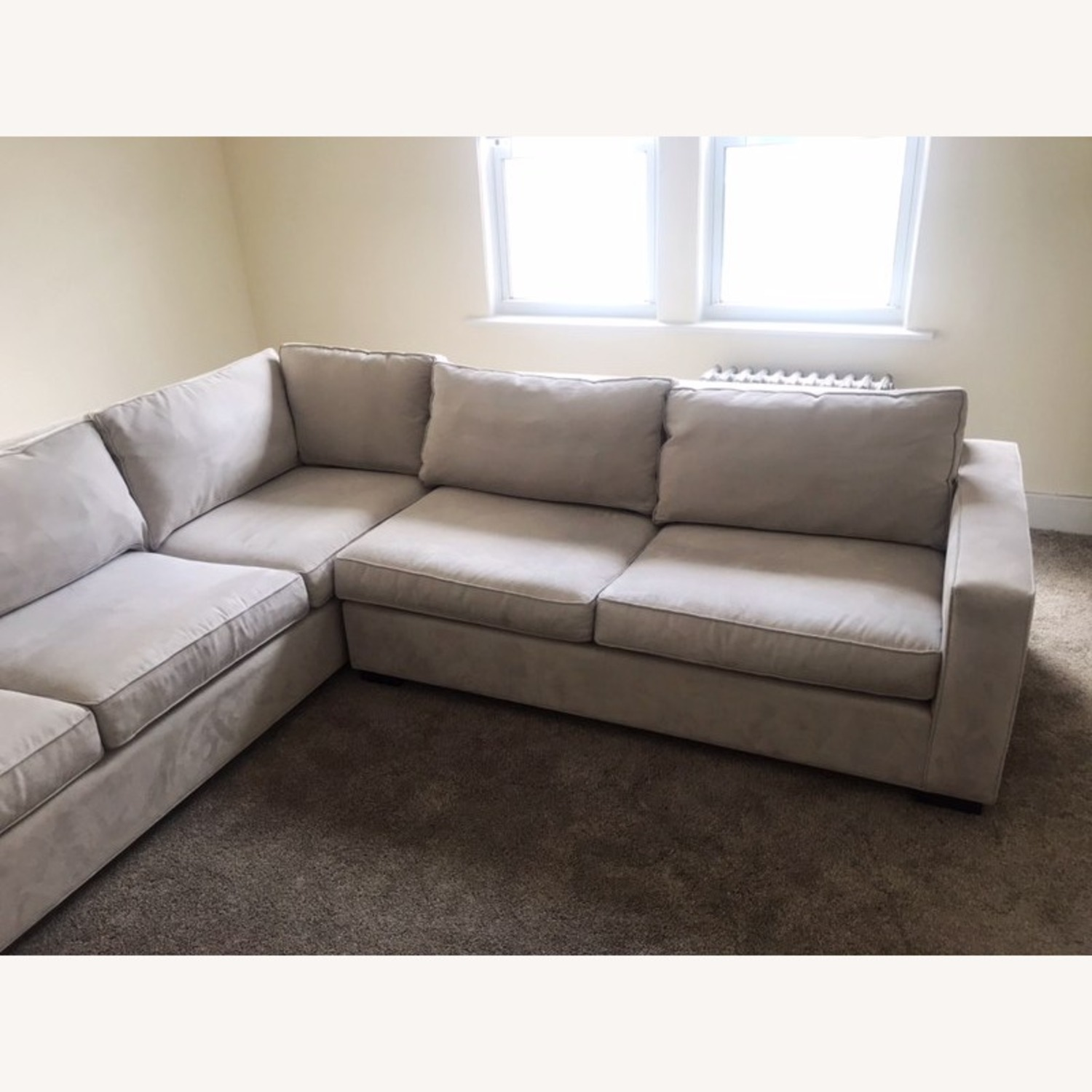 Mitchell Gold + Bob William 2 Piece Sectional Sofa - image-5