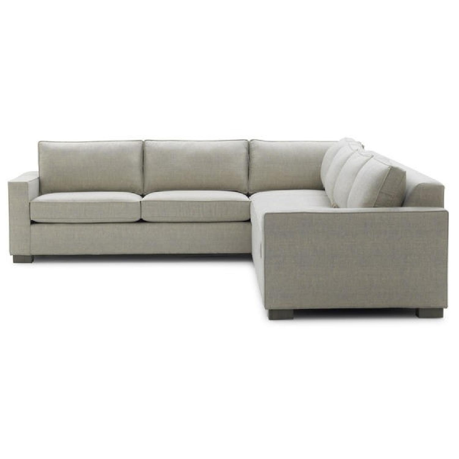 Mitchell Gold + Bob William 2 Piece Sectional Sofa - image-1