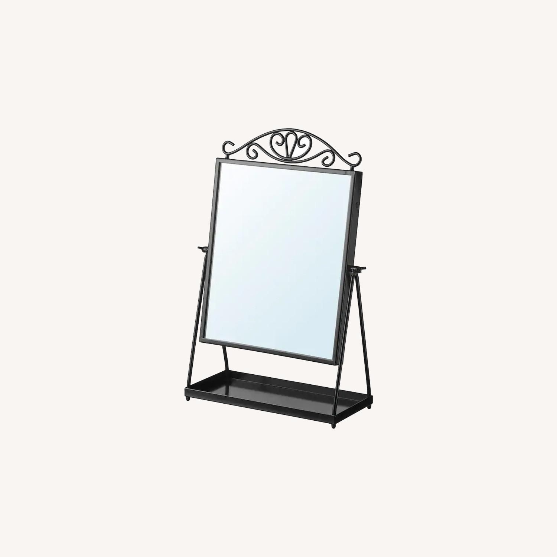 IKEA KARMSUND Black Table mirror - image-0