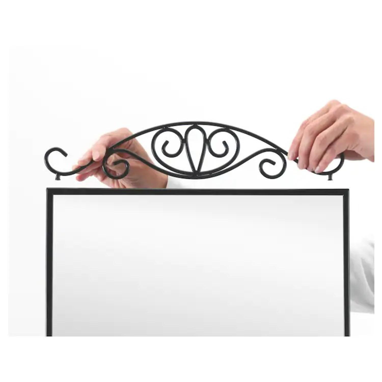 IKEA KARMSUND Black Table mirror - image-2