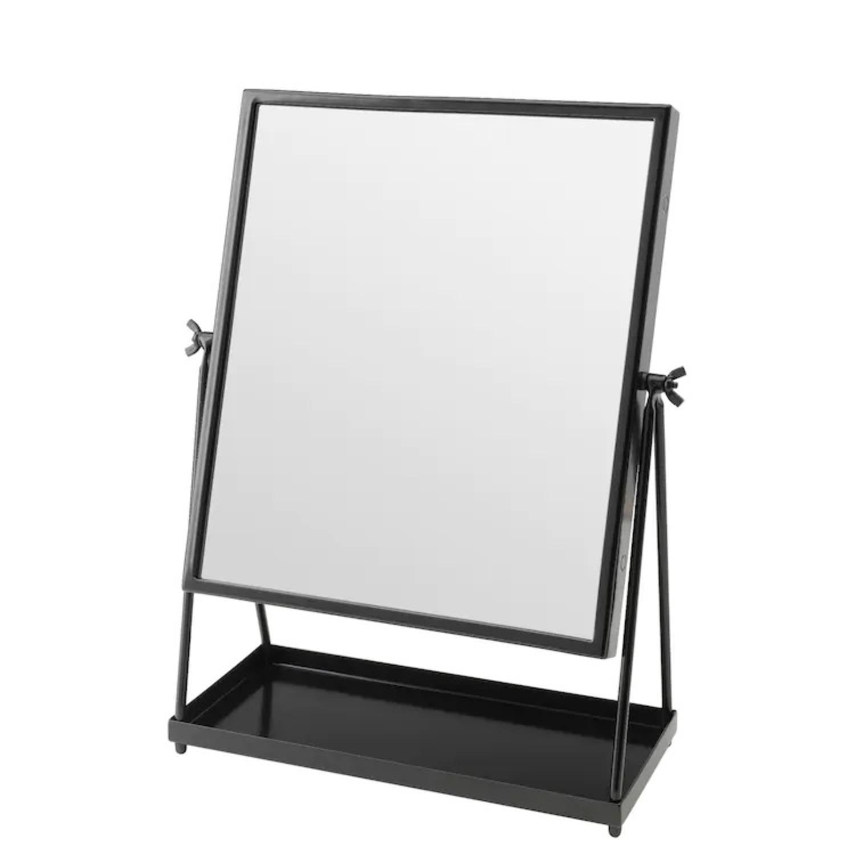 IKEA KARMSUND Black Table mirror - image-3