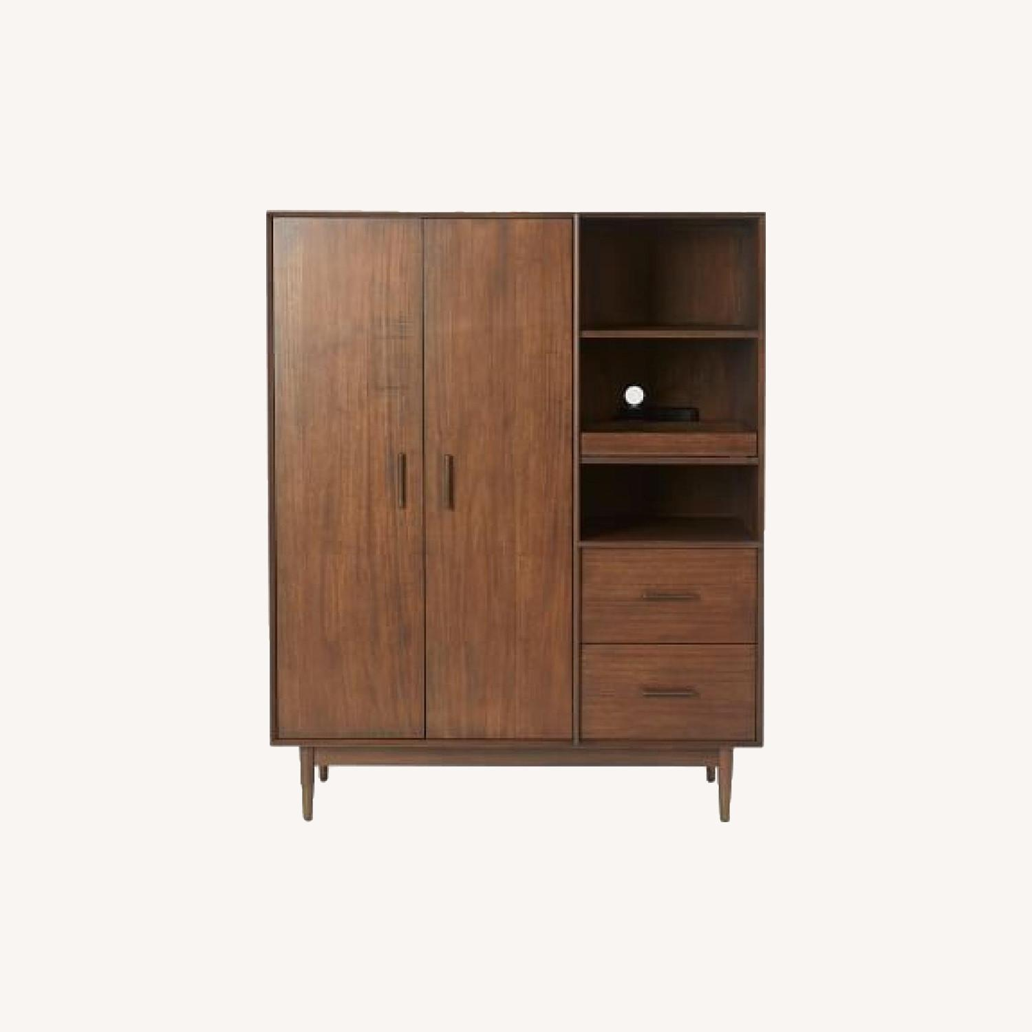 West Elm Four Points Armoire Whisky  - image-0