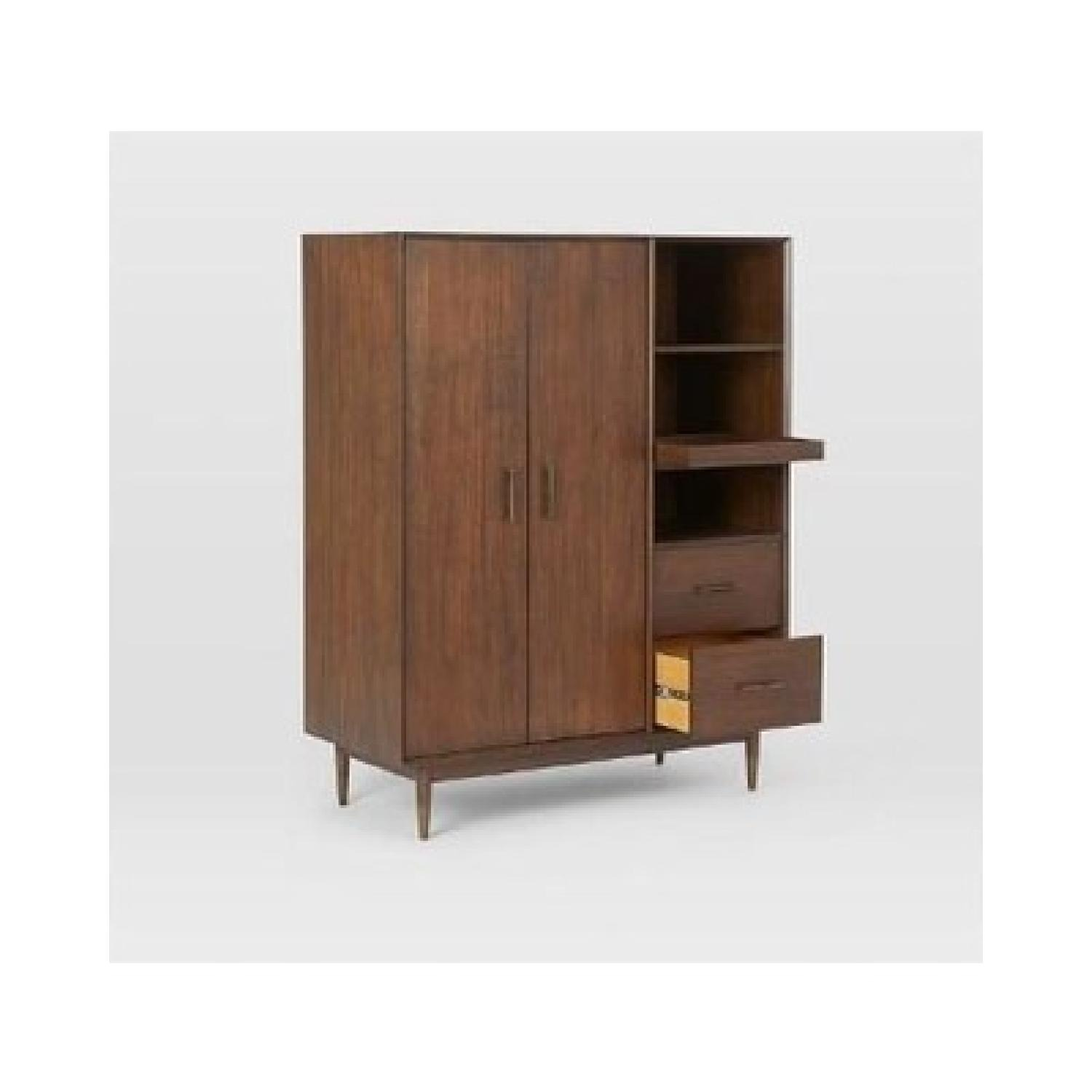 West Elm Four Points Armoire Whisky  - image-1