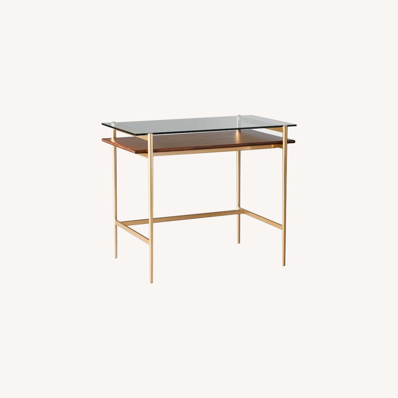 West Elm Mid-Century Art Display Mini Desk - image-0