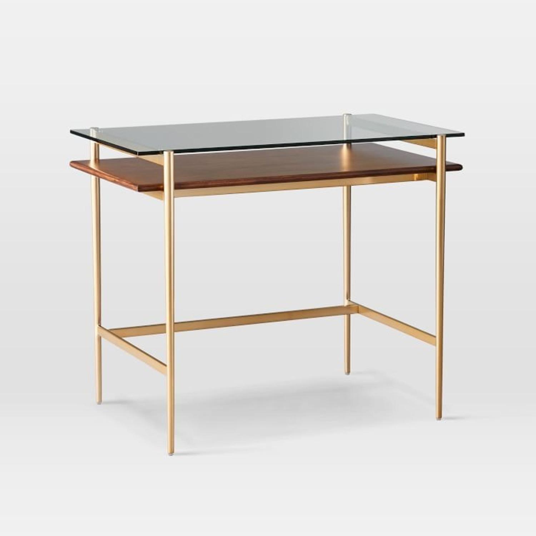 West Elm Mid-Century Art Display Mini Desk - image-1