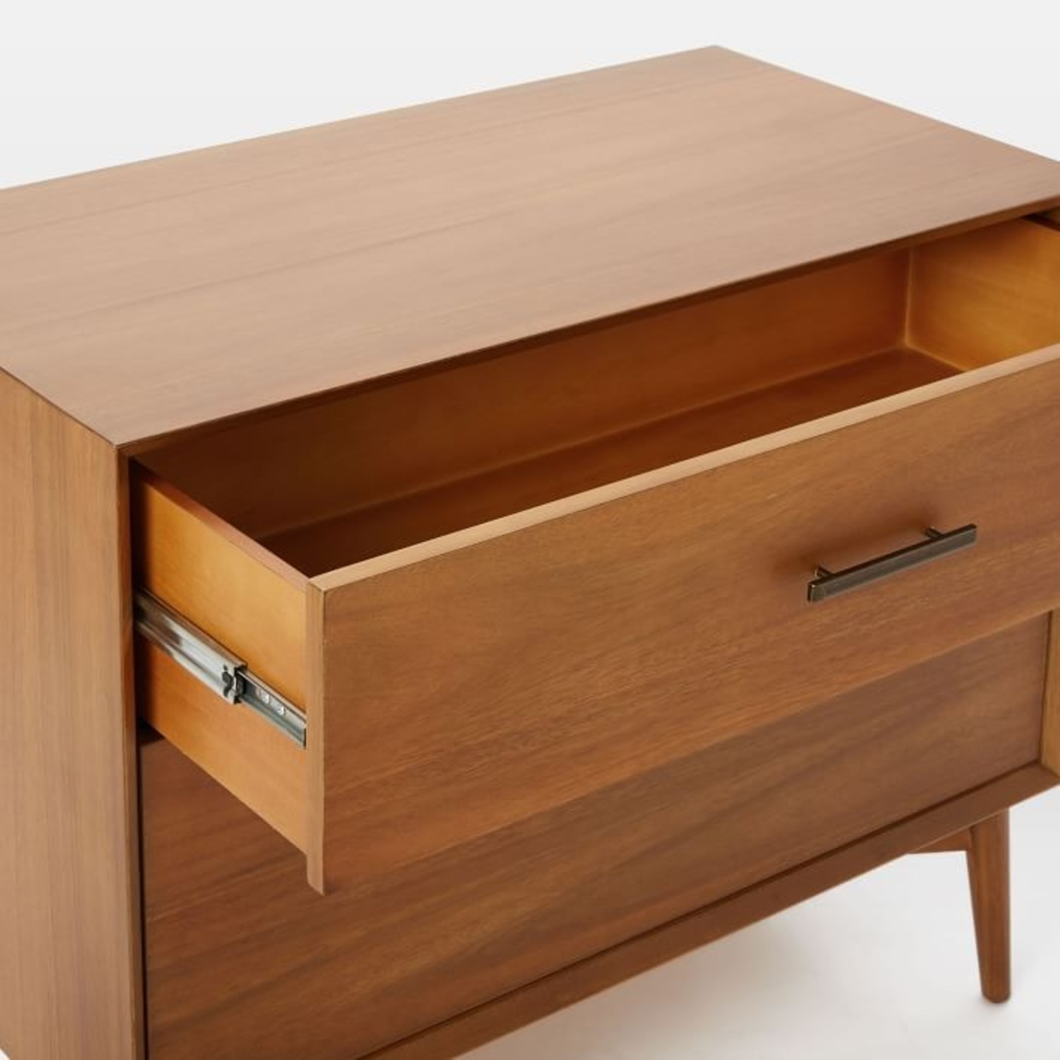 West Elm Mid-Century Lateral File, Acorn - image-2