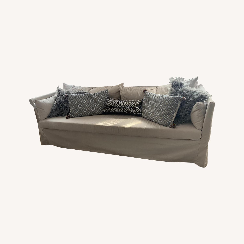 IKEA Beige SANDBACKEN Sofa - image-0