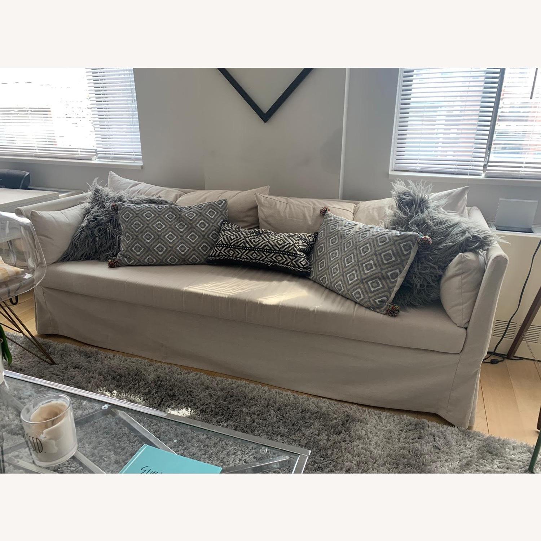 IKEA Beige SANDBACKEN Sofa - image-6