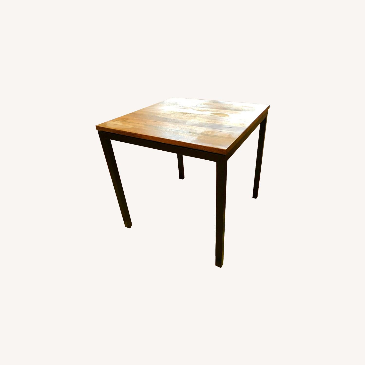 West Elm Box Frame Square Dining Table - image-0
