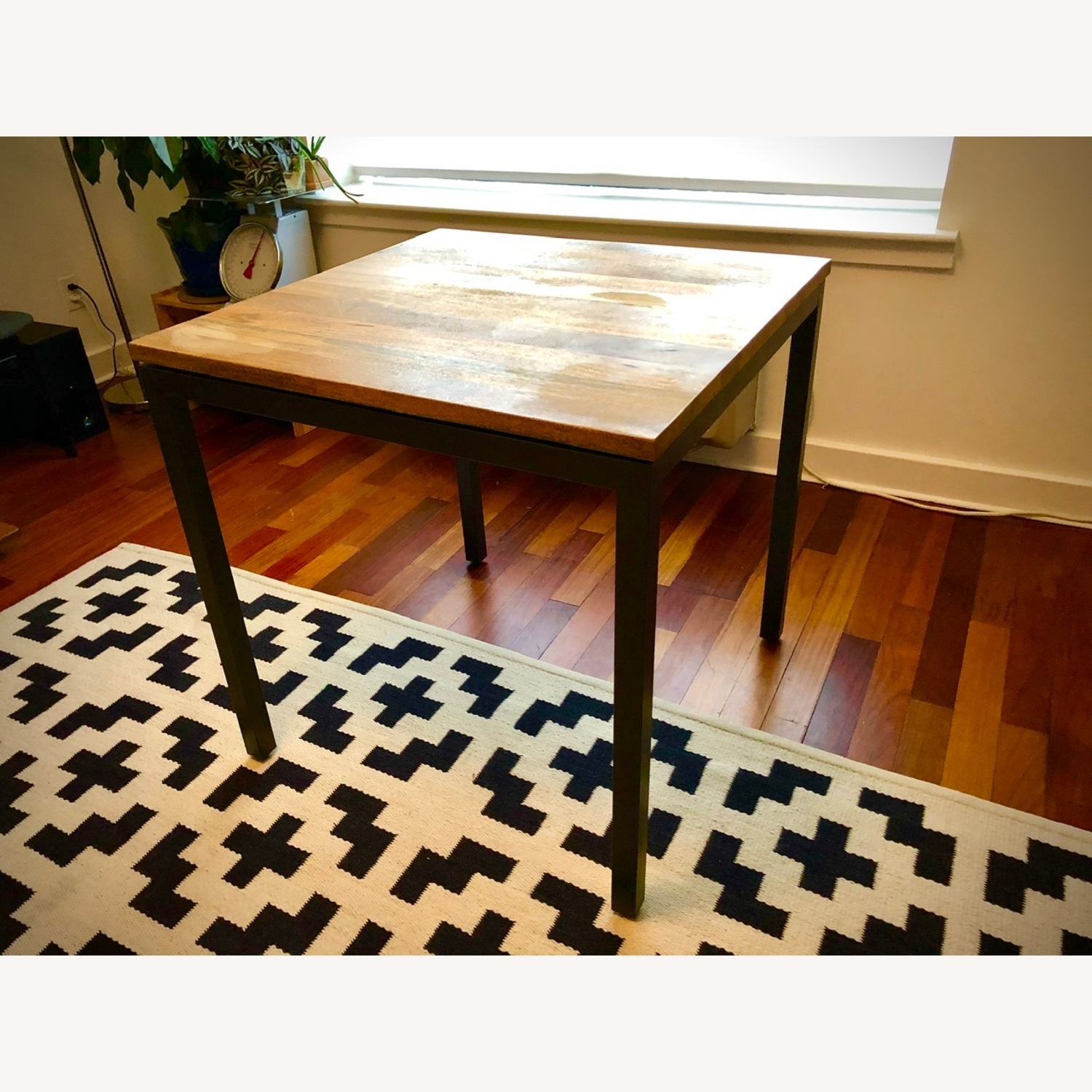 West Elm Box Frame Square Dining Table - image-3