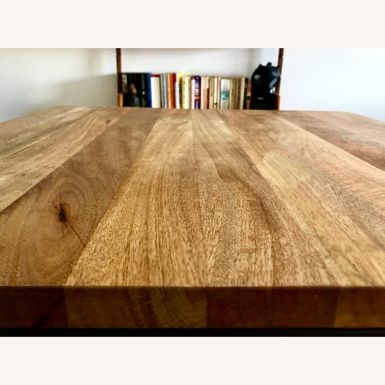 West Elm Box Frame Square Dining Table - image-2