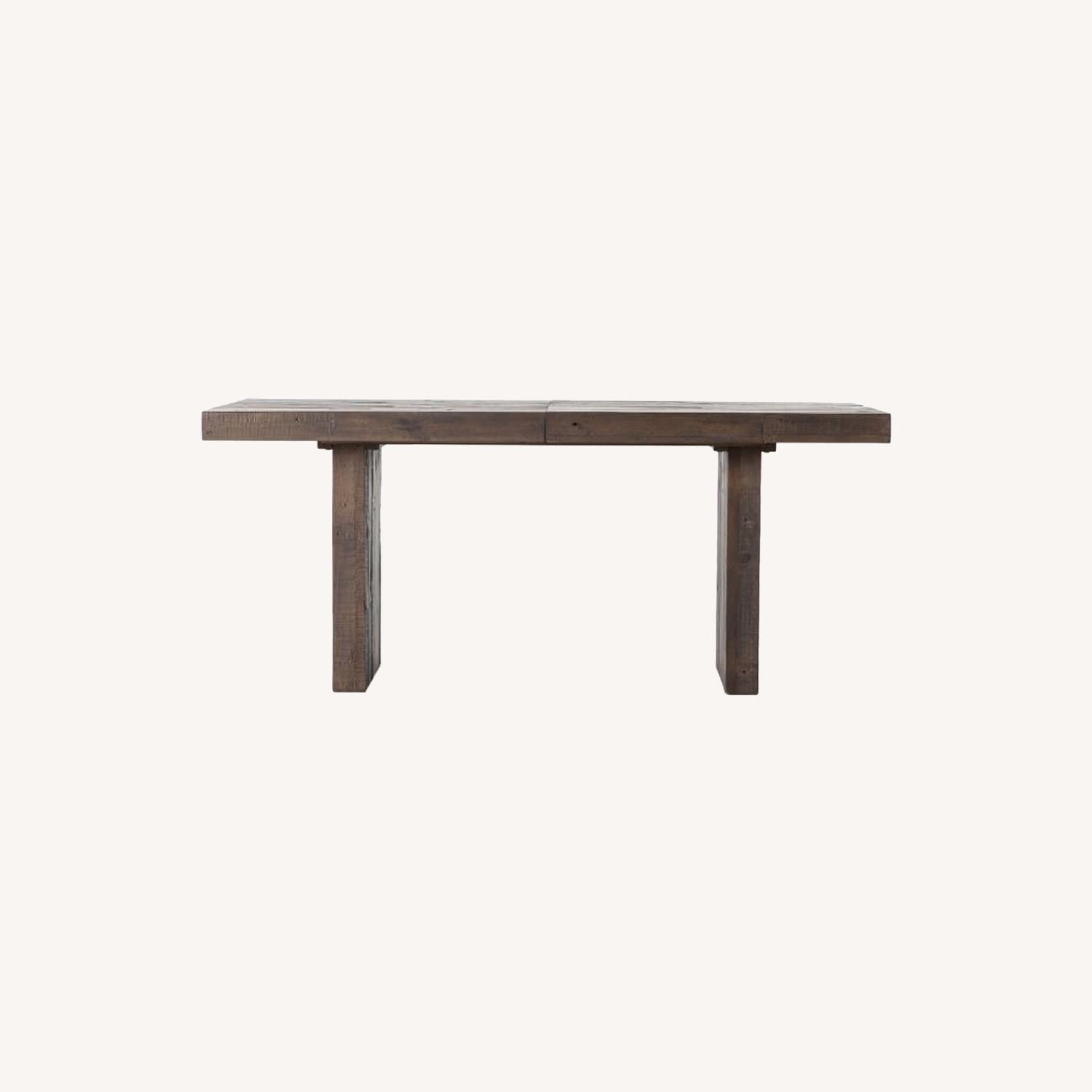 West Elm Emmerson Wood Expandable Dining Table - image-0