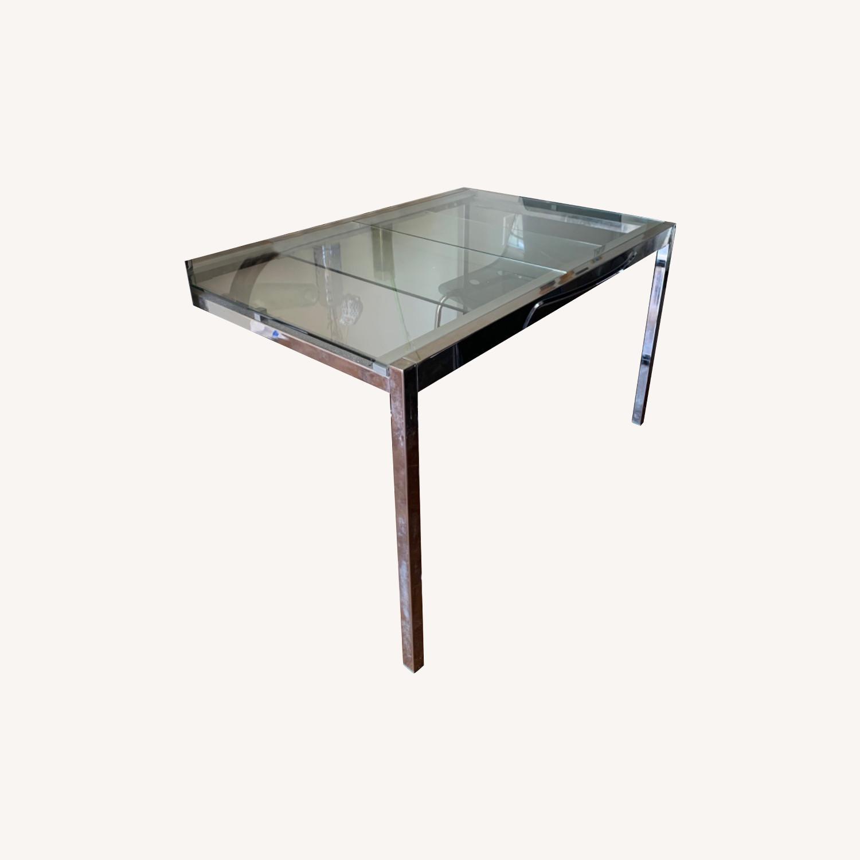 IKEA Glass Table - image-0