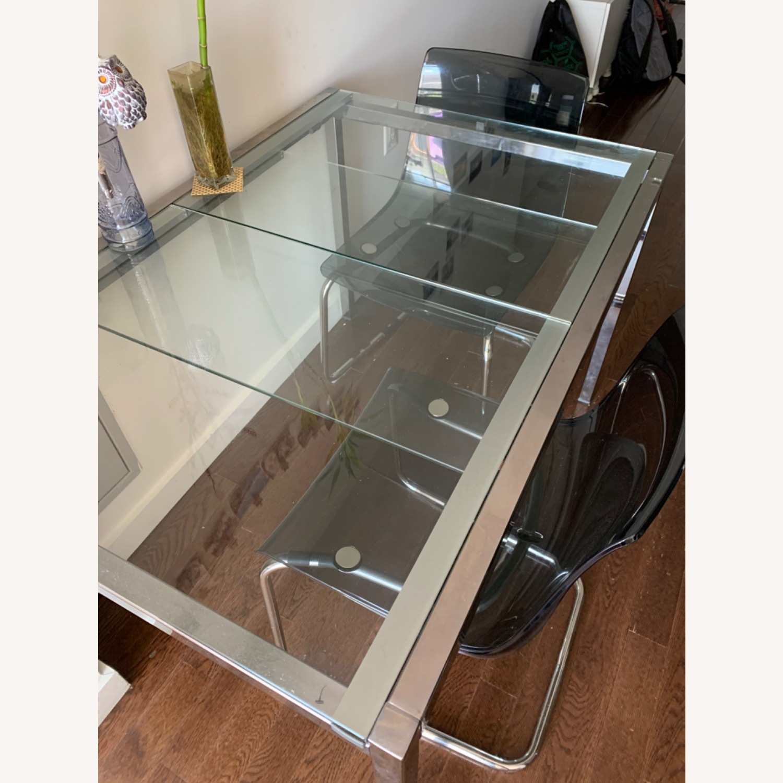 IKEA Glass Table - image-1