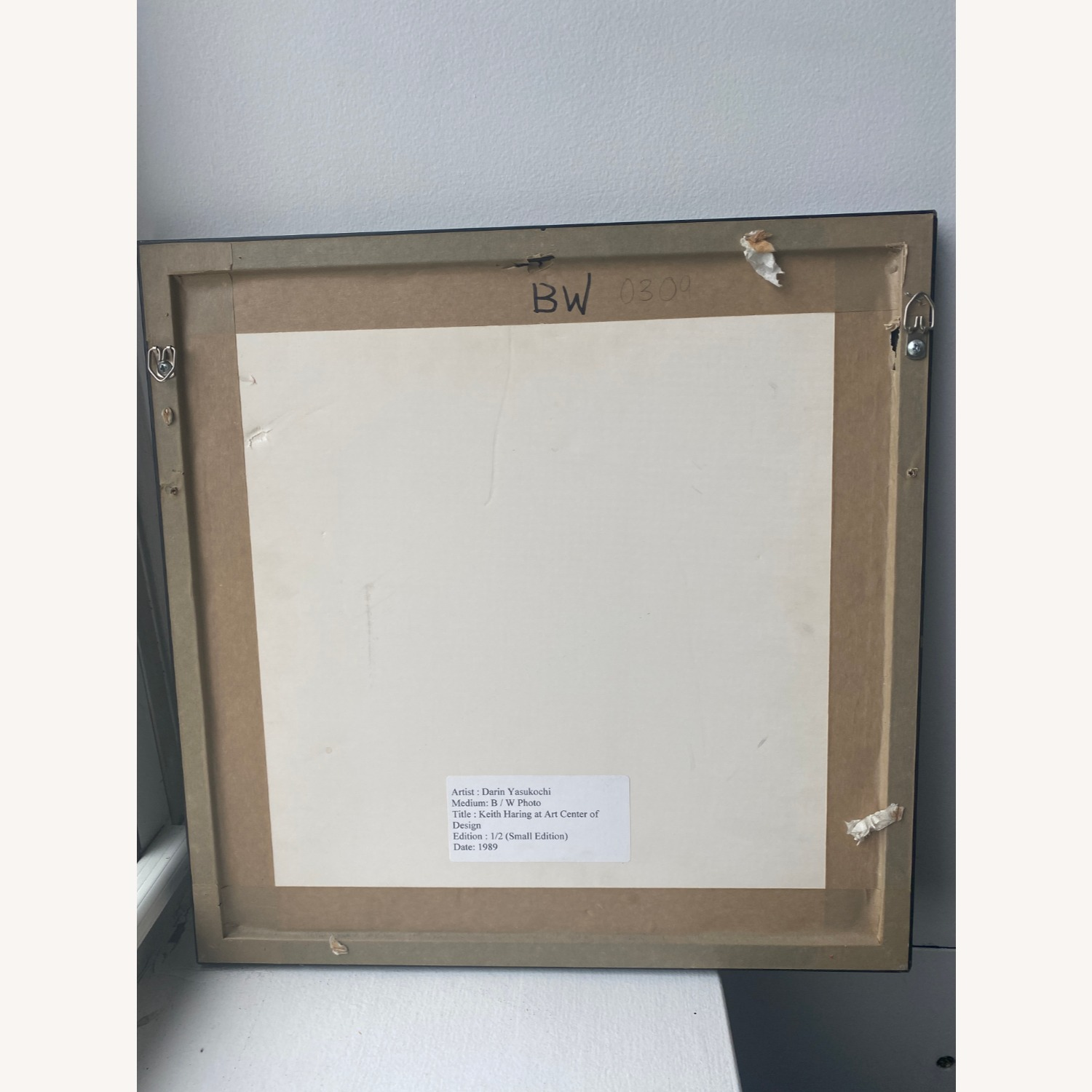 Limited Edition Keith Haring Framed Portrait - image-3