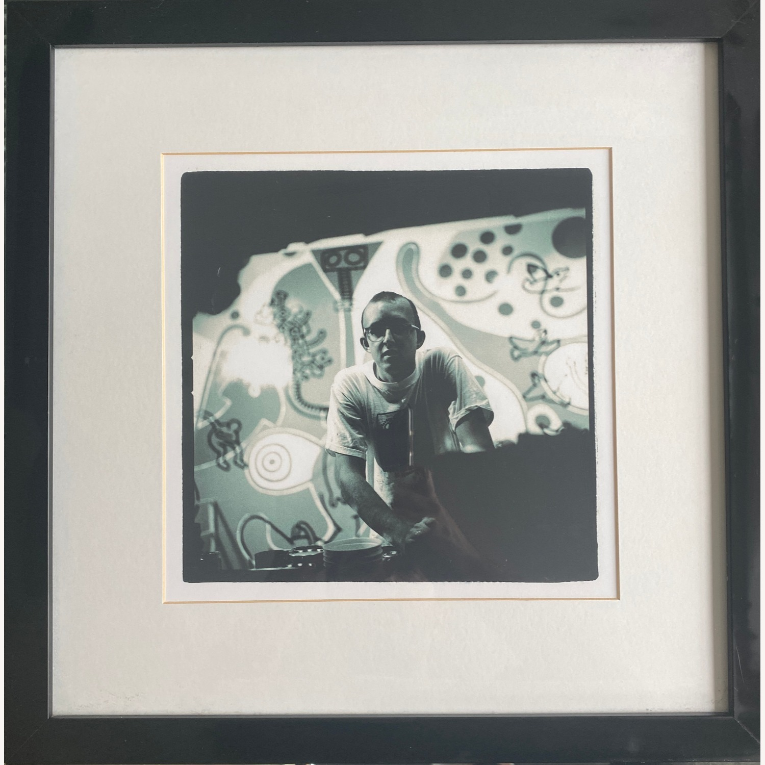 Limited Edition Keith Haring Framed Portrait - image-1