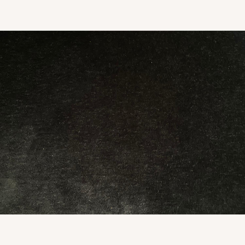 Room & Board Black Mohair Velvet Myrna Chair - image-3