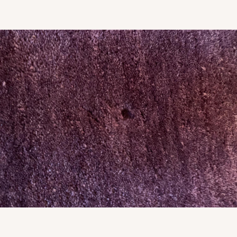 Crate & Barrel Purple Rug - image-3