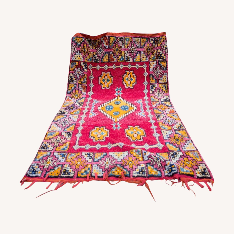 Vintage Moroccan Rug - image-0
