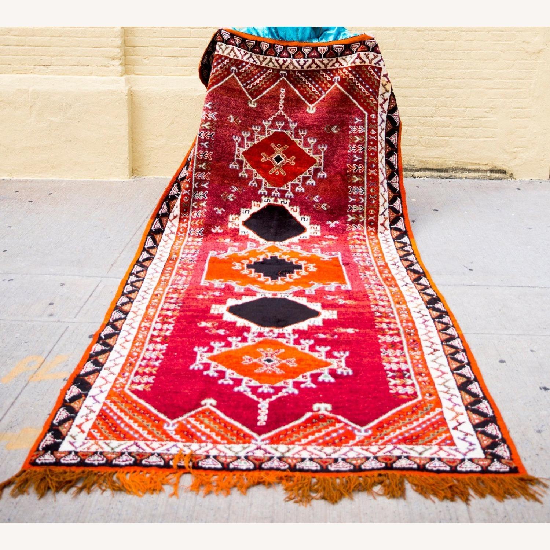 Beautiful Vintage Moroccan Carpet - image-1