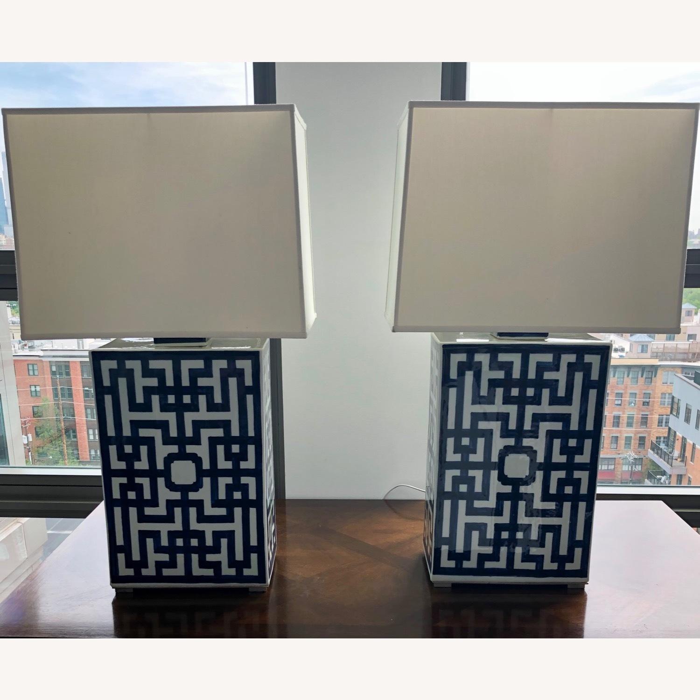 Ralph Lauren Porcelain Table Lamps - image-1
