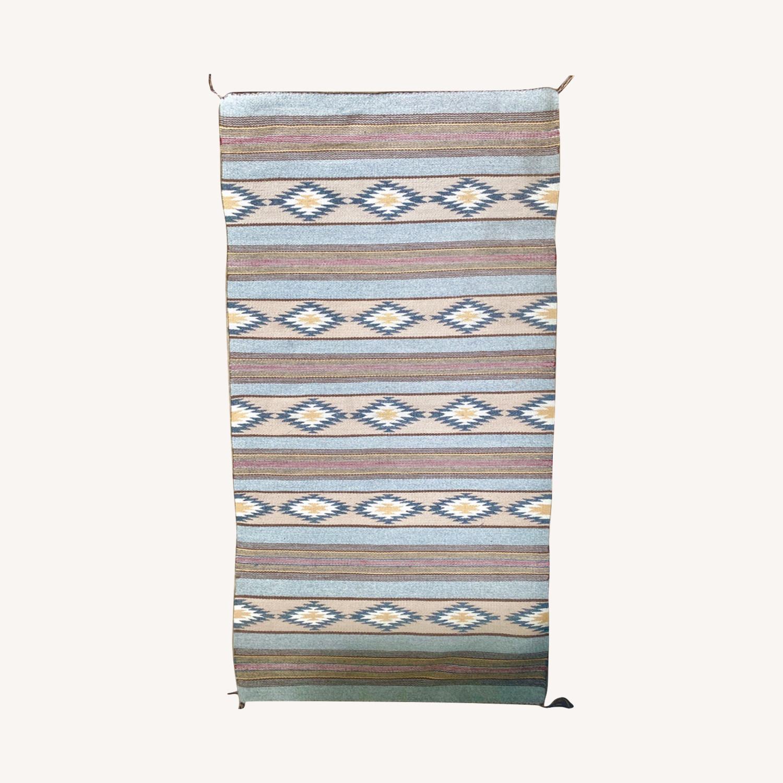 Antique Navajo Rug - image-0