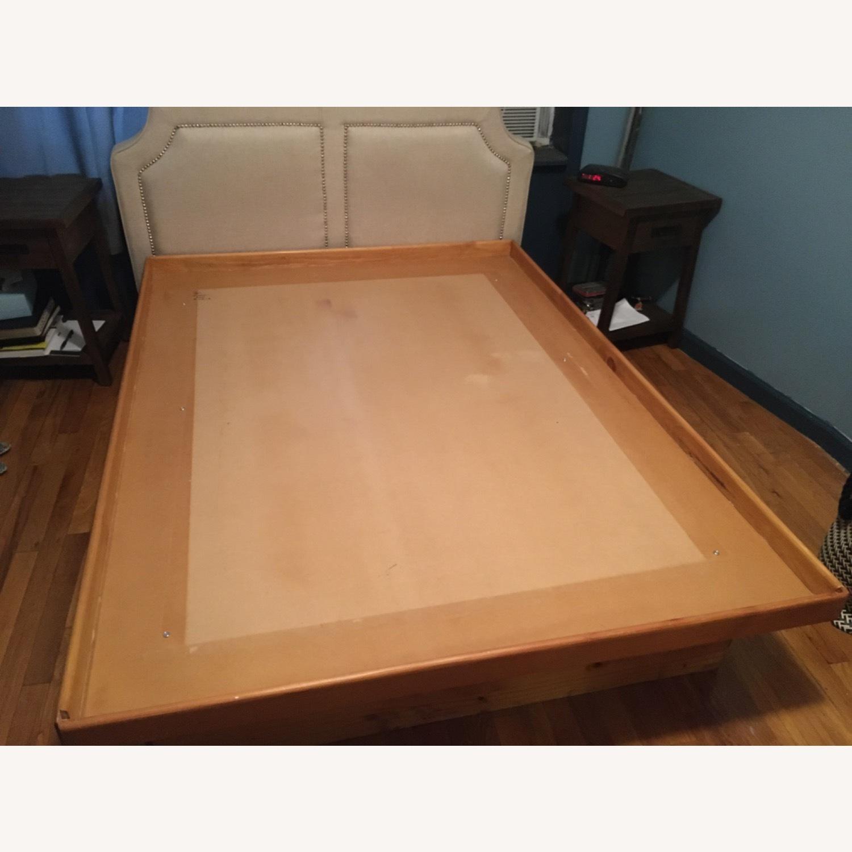 Full Bed Platform 4 Storage Drawers Free Headboard - image-2