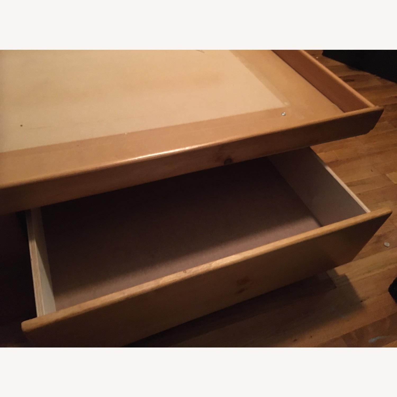 Full Bed Platform 4 Storage Drawers Free Headboard - image-3