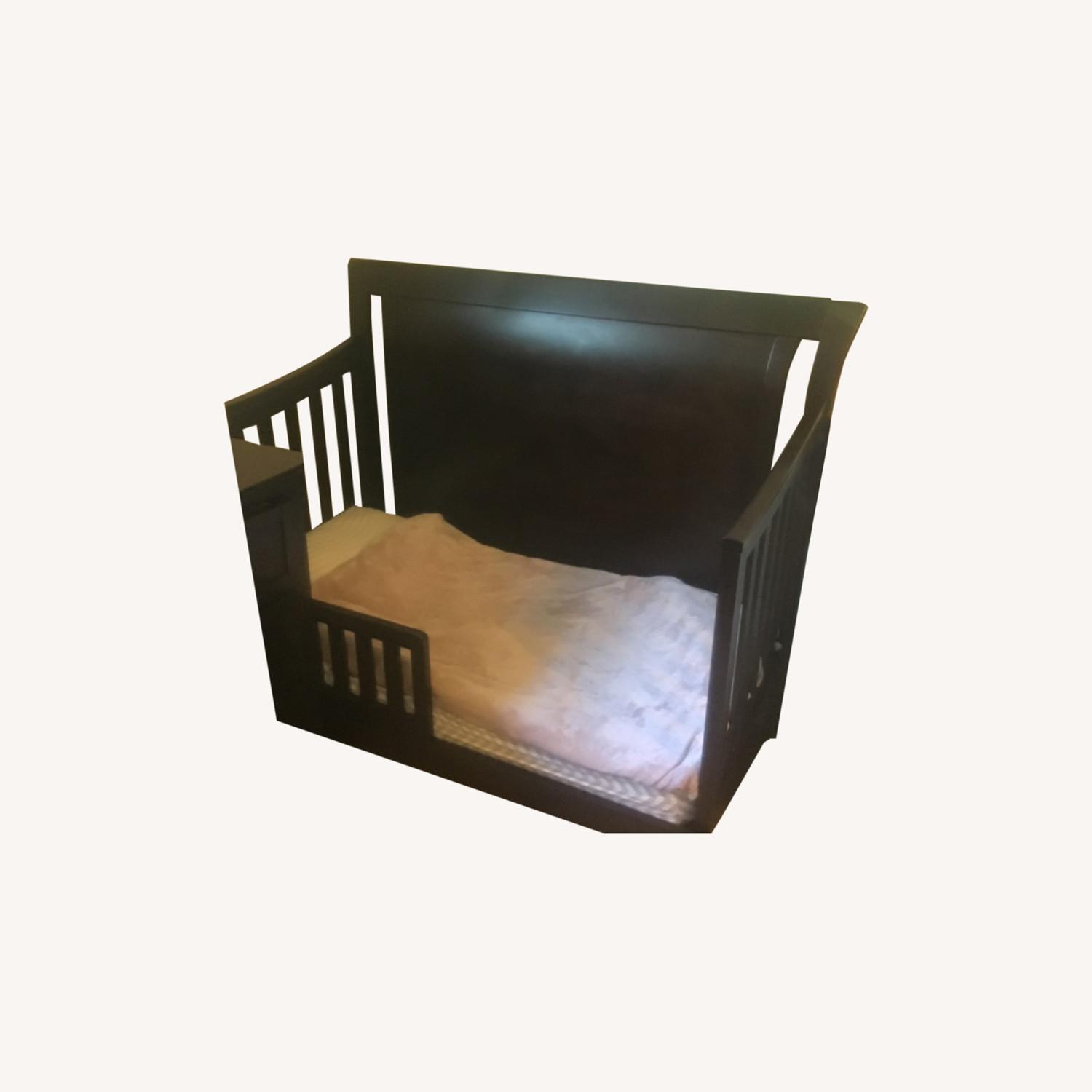 Convertible Crib to Twin Bed With Headboard - image-0