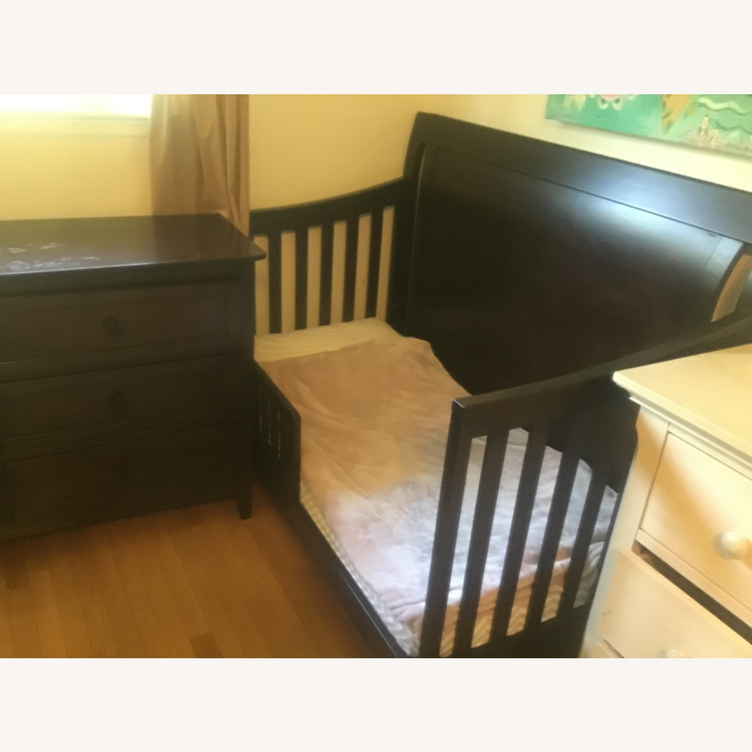 Convertible Crib to Twin Bed With Headboard - image-3