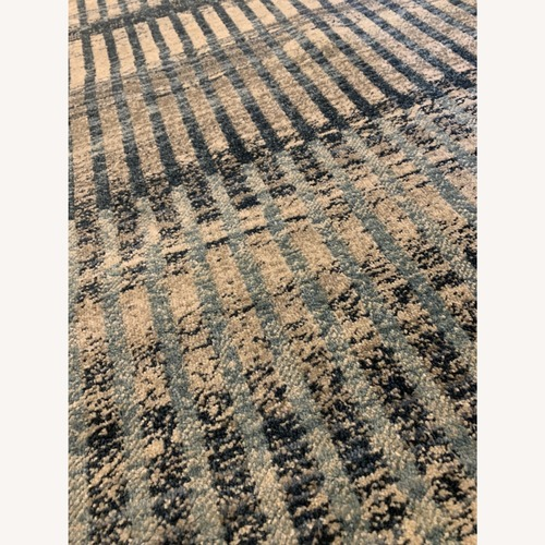 Used nuLOOM Blue Abstract Rug 7.5x5 for sale on AptDeco