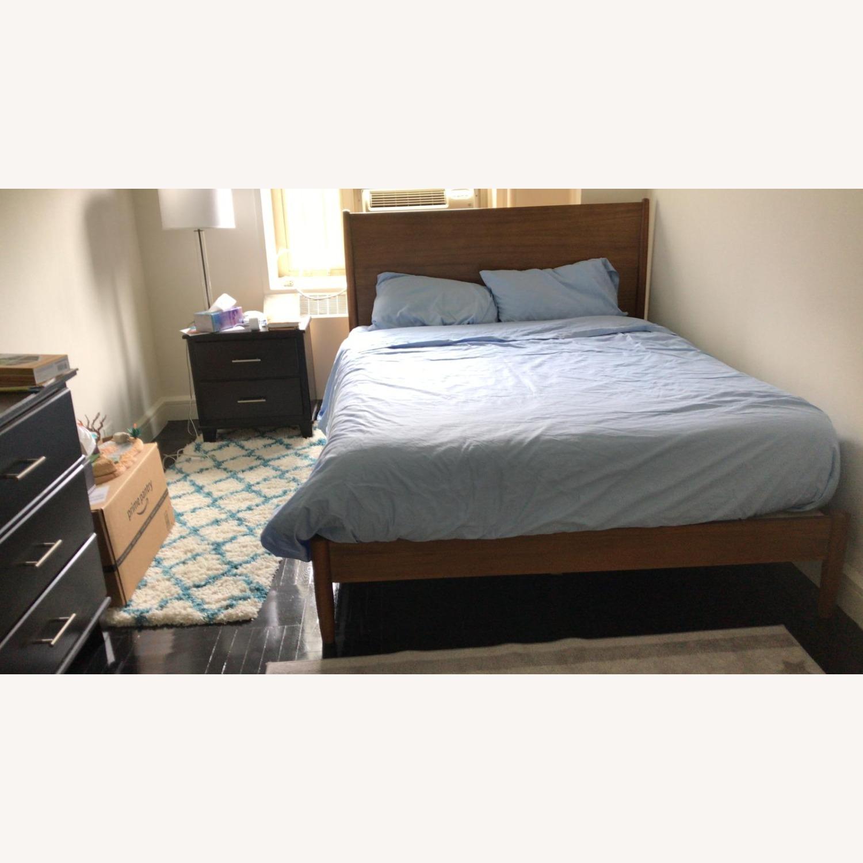 West Elm Mid Century Queen Bed (Acorn) - image-5